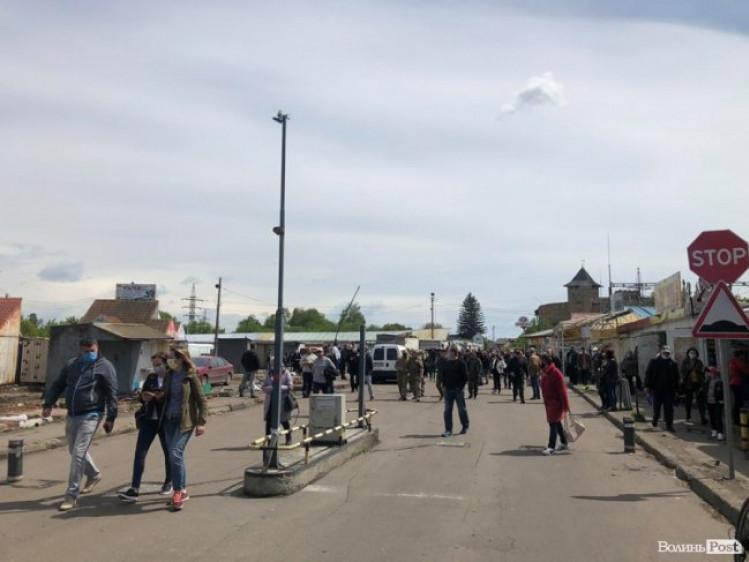Підприємці Старого ринку вийшли на мітинг