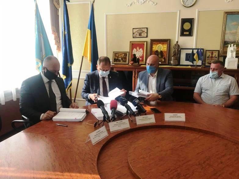 Підприємство «Богдан Моторс» підписало договір на поставку тролейбусів для Сум