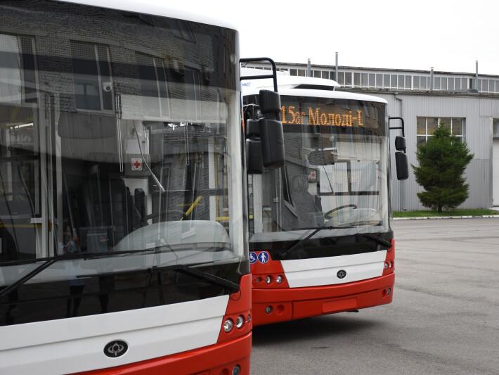 Луцьк отримає ще чотири нових тролейбуси від компанії «Богдан Моторс»