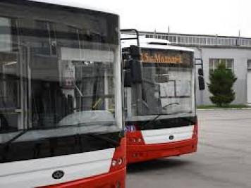 Нові тролейбуси у Луцьку