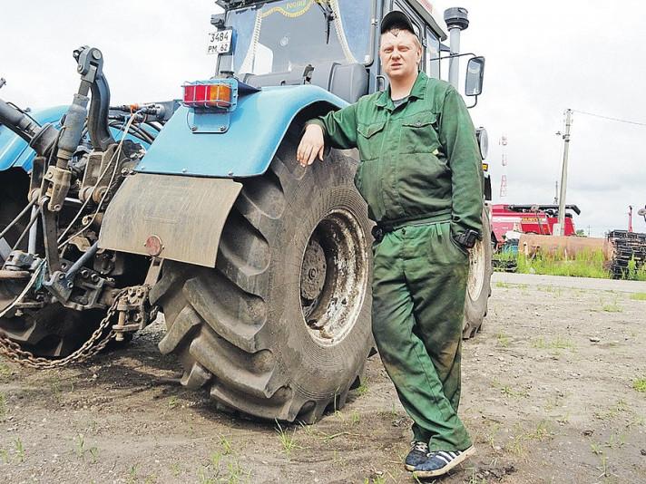 Тракторист. Фото ілюстративне