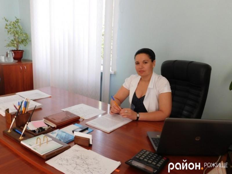 Колишня голова Рожищенської районної державної адміністрації Інна Гайворонська