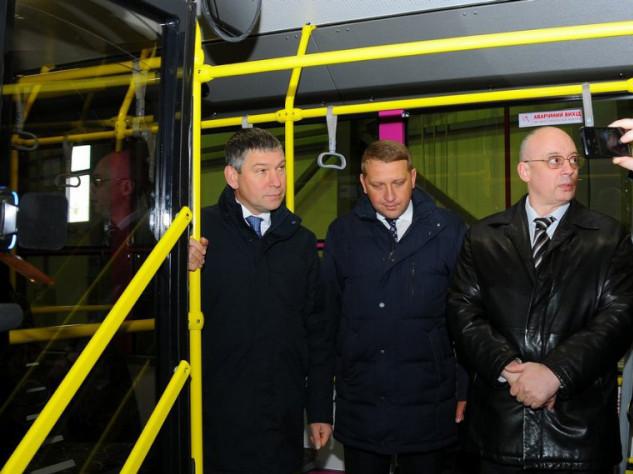 Нардеп відзначив високу якість тролейбусів, які виготовляє «Богдан Моторс»