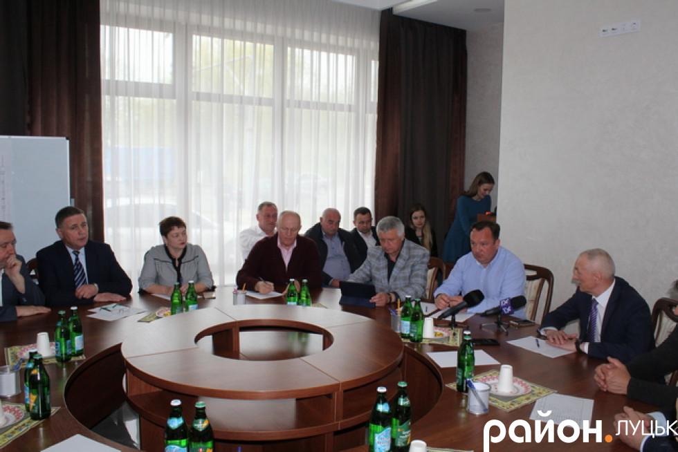 Зустріч Олександра Савченка з аграріями Волині