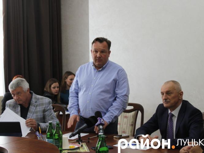 Олександр Савченко приїхав до аграріїв Волині