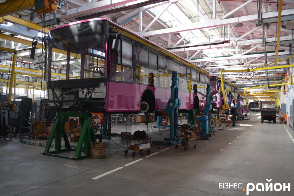 Тролейбус для міста Кременчук