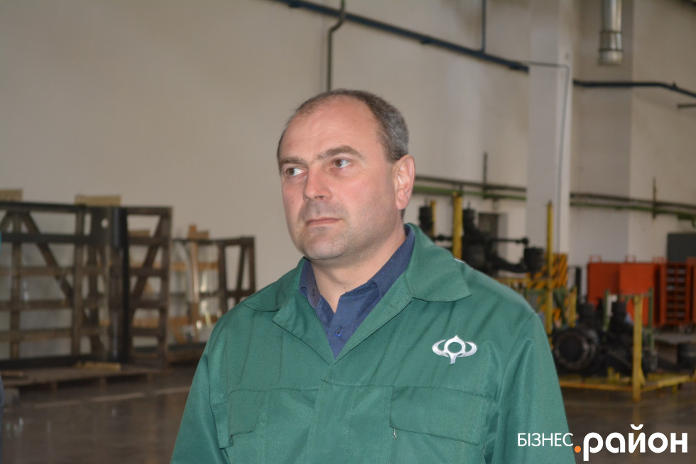 Начальник складального цеху Олександр Ліщук
