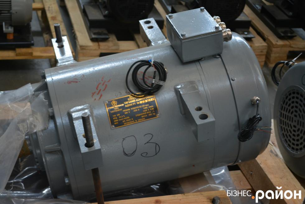 Тяговий електродвигнун від харківського виробника