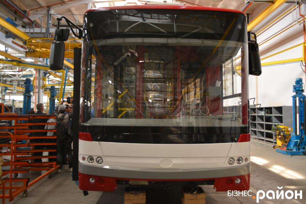 «Богданівський» тролейбус
