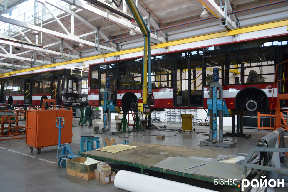 Тролейбуси виготовляють наразі для міста Кременчук