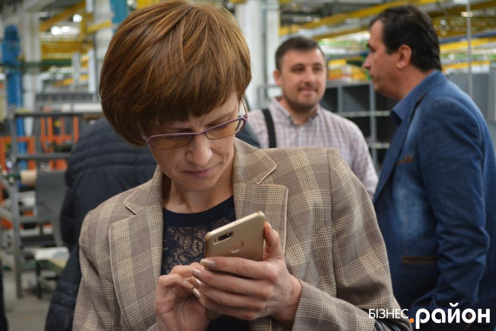 Депутатка Анна Мовяк