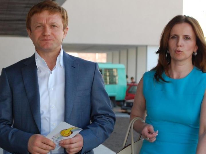 Степан Івахів з дружиною