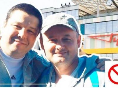 Костянтин Петрочук - ліворуч, Олександр Сологуб - праворуч