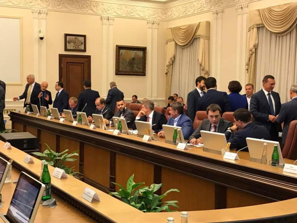 Під час засідання правління Асоціації міст України