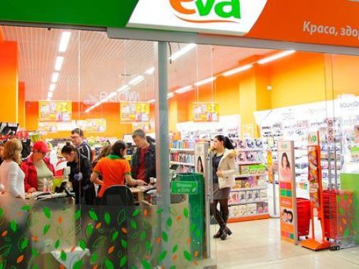 У травні 2018 року мережа магазинів косметики та побутової хімії EVA зросла на десять магазинів