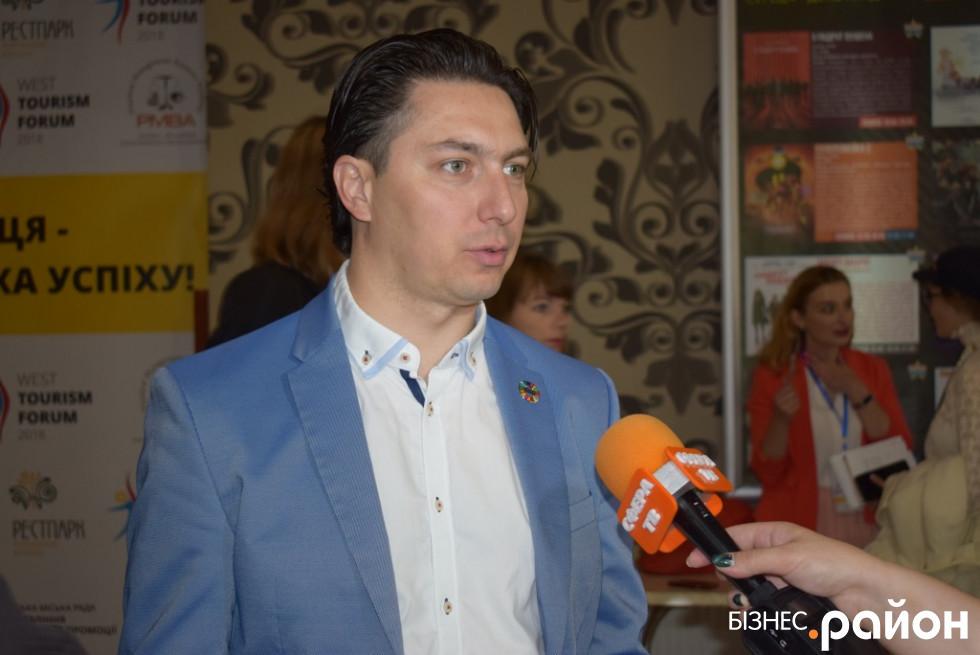 Президент національної туристичної організації України Іван Ліптуга