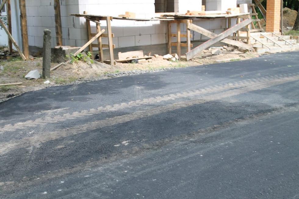 Дорогу в турійському селі відремонтували за новітньою технологією