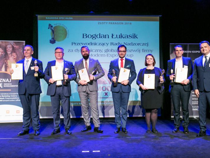 Компанія Modern-Expo отримала дві нагороди на церемонії «Gold Receipt 2018» 8116581faad6d