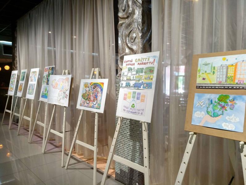 У Луцьку відкрили виставку робіт дитячого конкурсу від «Наш Край»