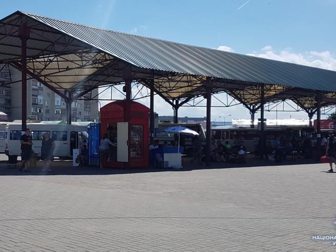 Автовокзал працює  у штатному режимі