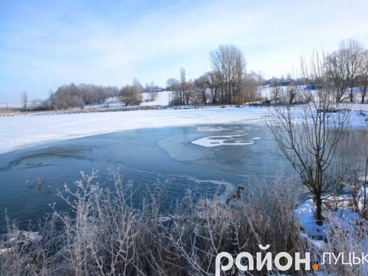 Водойма у селі Чаруків