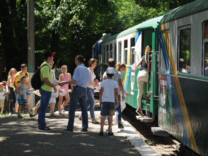 Луцька дитяча залізниця закрила сезон