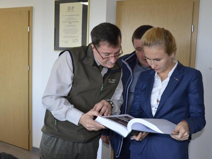 Шацькі нацпарківці переймали досвід у польських колег