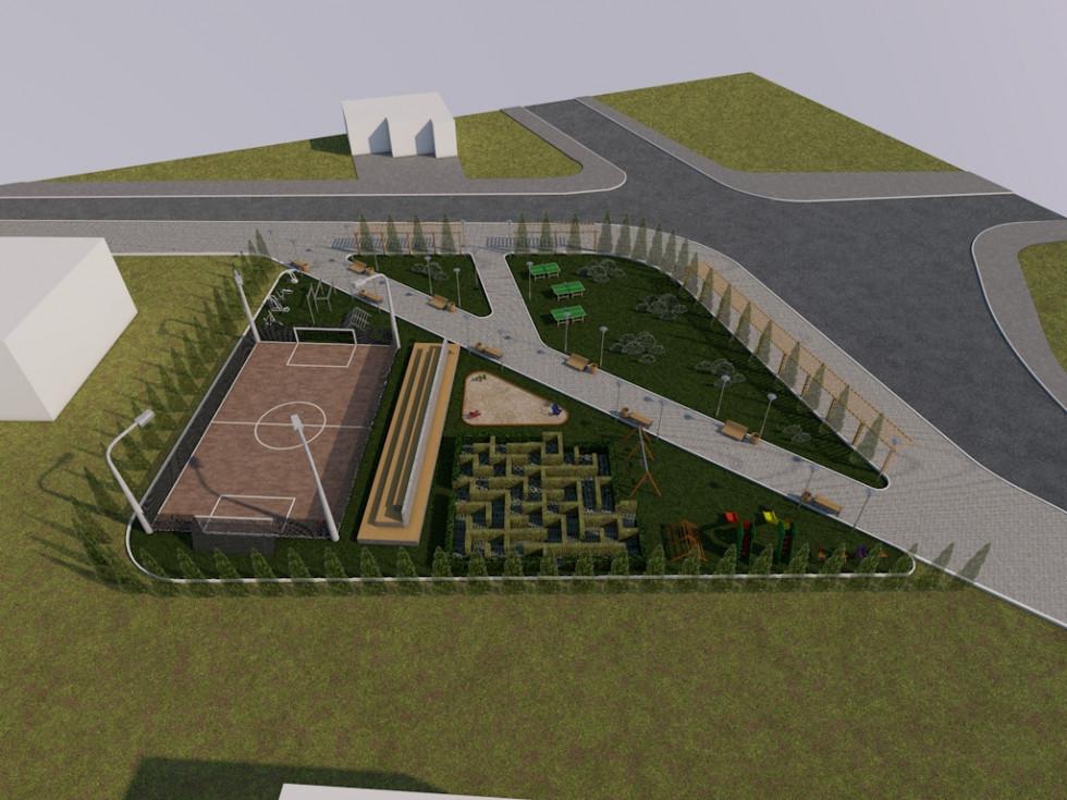 Проект озеленення території від Шацької ОТГ