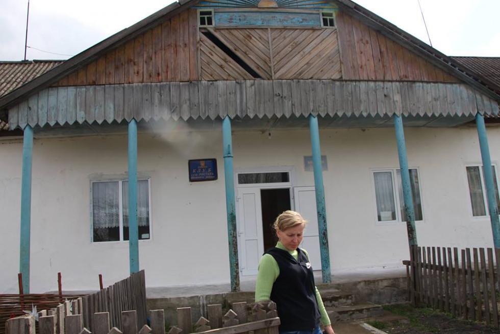 Так виглядає осередок культури в селі Ростань