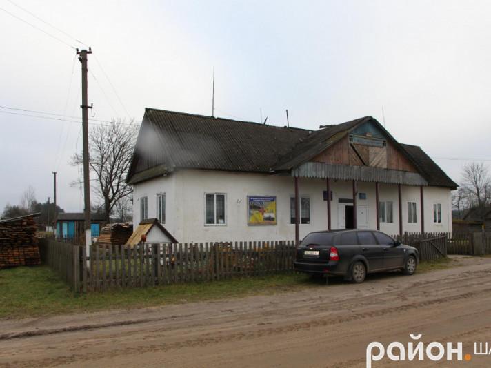 Клуб села Ростань відремонтують