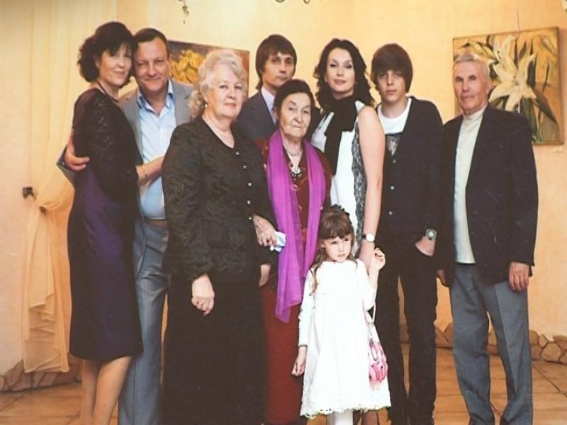 Родина Єремеєвих, архівне фото
