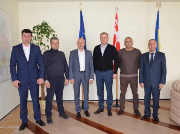 Делегація із Азербайджану в Волинській ОДА