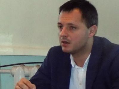 Антон Кустик на зустрічі з любешівчанами