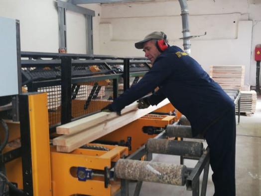 На Старовижівщині запрацювала сучасна лінія переробки деревини