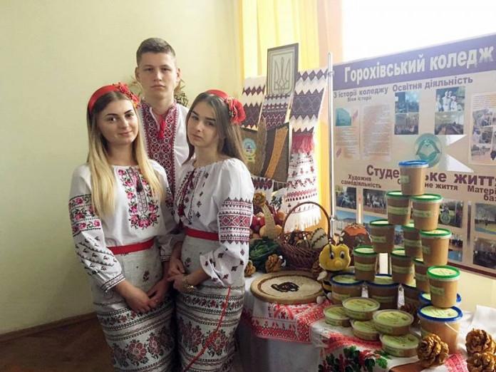 Горохівський коледж побував на виставці у райраді