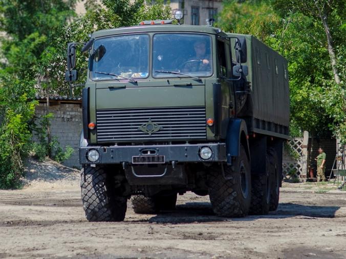 Вантажівка підвищеної прохідності «Богдан 6317»