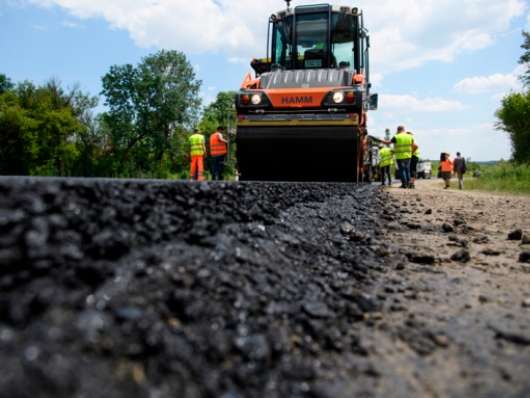 Волинь використала 86% коштів, виділених на ремонт доріг місцевого значення
