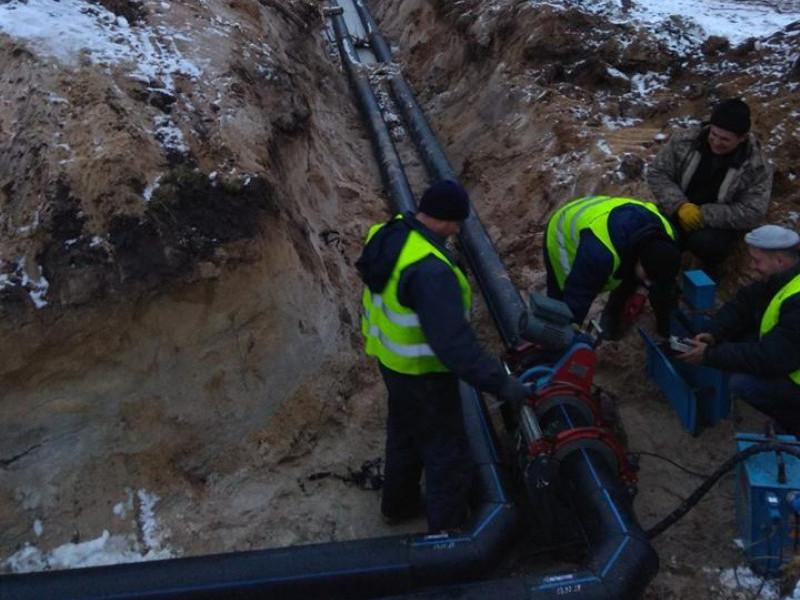 В Шацьку, Мельниках та Гаївці вже проклали 25 кілометрів каналізації
