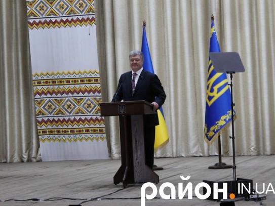 Петро Порошенко у Ківерцях