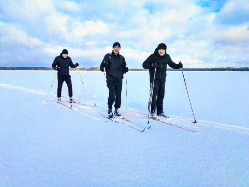 На Шацьких озерах розпочався сезон лижних екскурсій