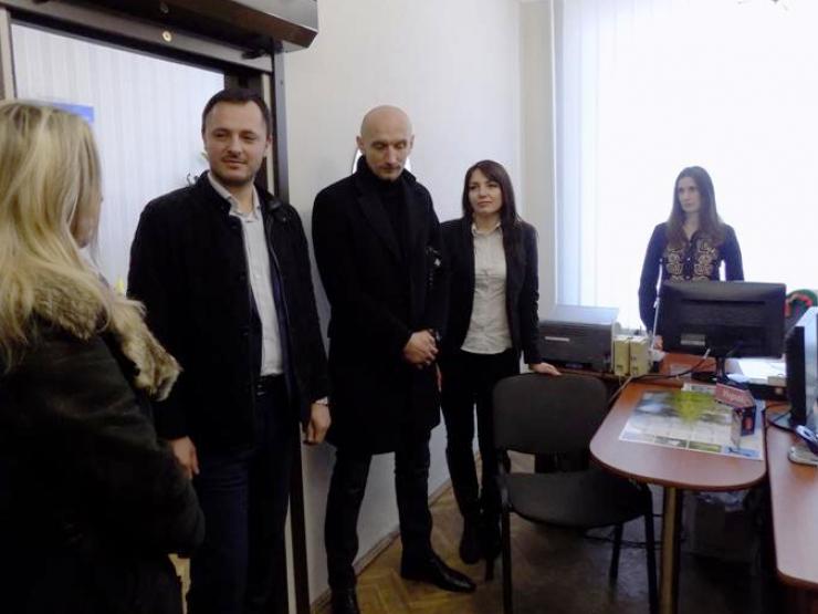На відкритті нотаріальної контори в Любешеві
