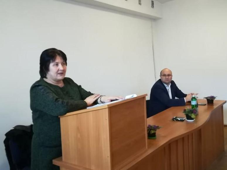 Звітує головний лікар Наталія Ланевич