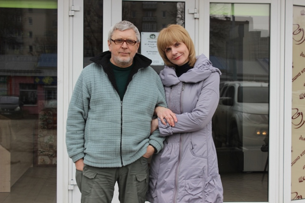 Олександр та Вікторія живуть у Луцьку тільки 4 роки