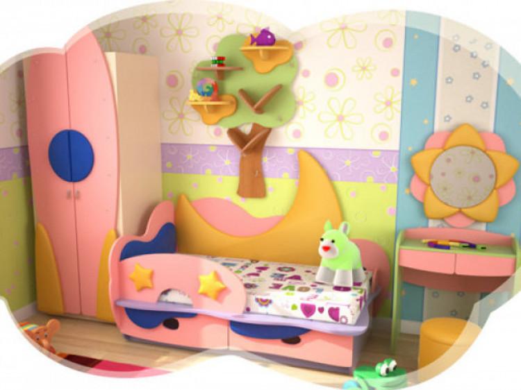 Меблі із серії «Місячна казка»