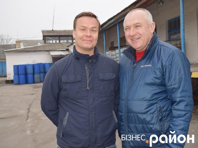 Пекка Кавісто та Олександр Захарчук