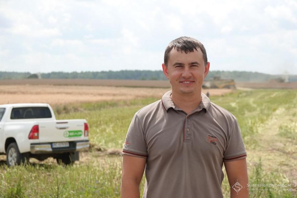 головний агроном ТзОВ «Волинь-Зерно-Продукт» Ярослав Мазуренко