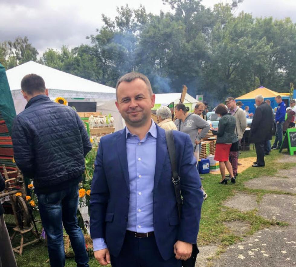 Заступник директора СТзОВ «Городище» Олександр Никонюк