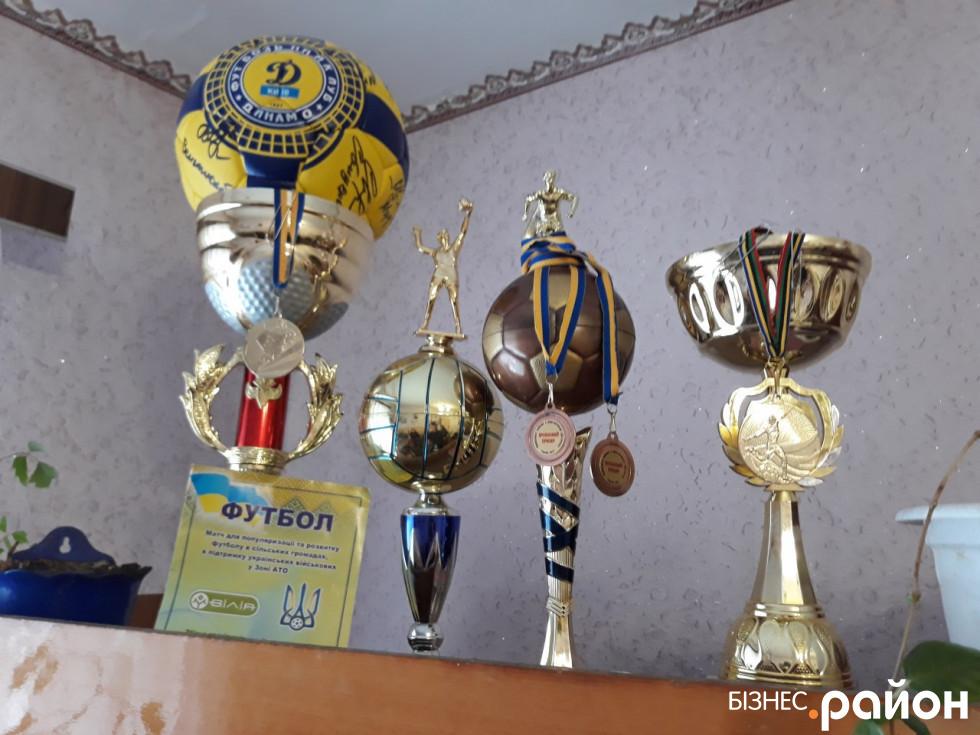 У селі гордяться успіхами місцевої футбольної команди «Дружба»