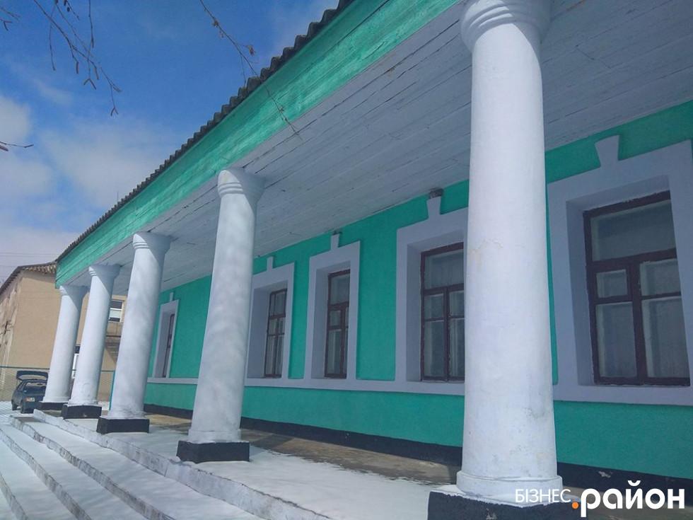 Будівля сільради в Афанасіївці