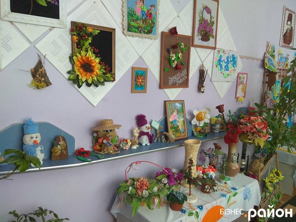 Творчі роботи вихованців садочка